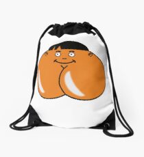 Check Out Cheeky - What else could it be? Drawstring Bag