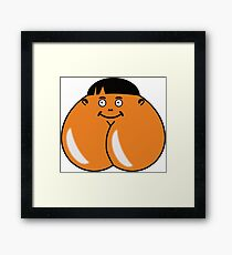 Check Out Cheeky - What else could it be? Framed Print