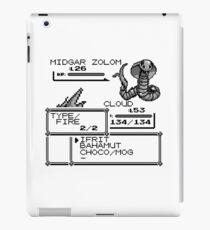 Cloud VS Midgar Zolom iPad Case/Skin