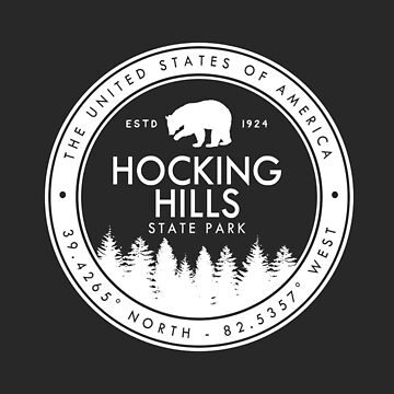 Hocking Hills State Park Ohio Souvenirs OH by fuller-factory