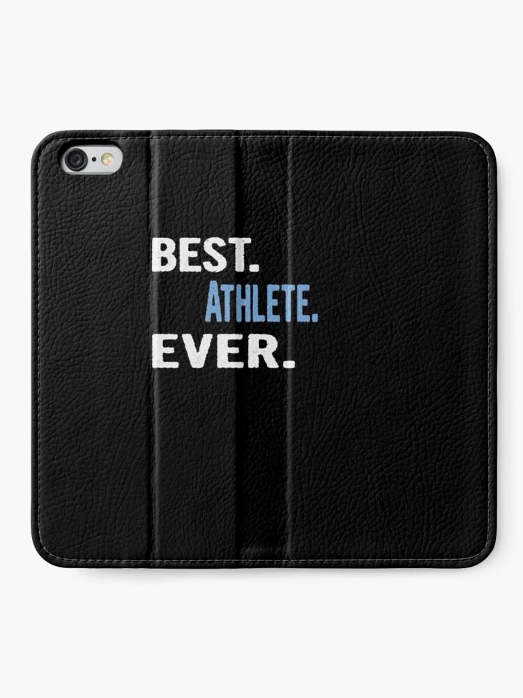 Alternative Ansicht von Best. Athlete. Ever. - Cool Gift Idea iPhone Flip-Case