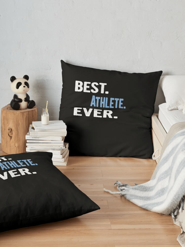 Alternative Ansicht von Best. Athlete. Ever. - Cool Gift Idea Bodenkissen