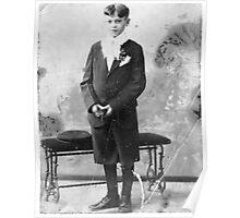 Italian Immigrant Boy c.1931 Poster