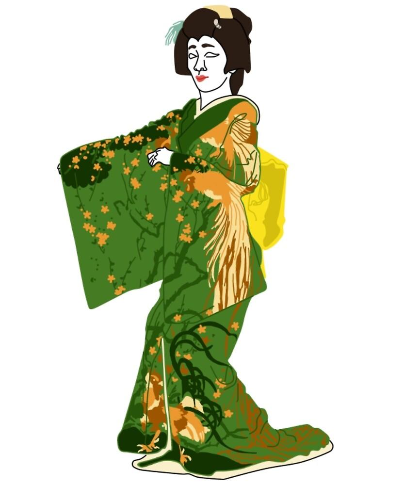 Chinese Zodiac Designs Kimono Motif by KHRArts