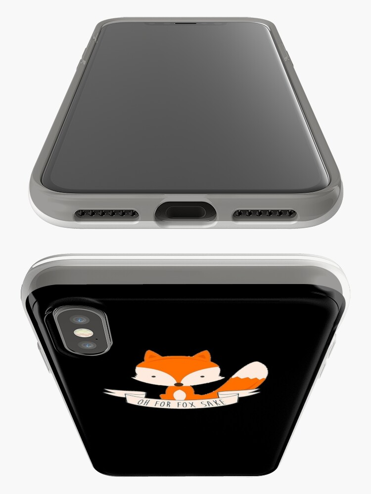 Alternative Ansicht von Oh nein, um Fox willen iPhone-Hüllen & Cover