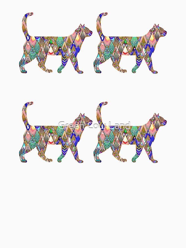 Regenbogen-Katzen von KaylinArt