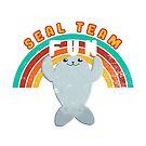 Seal Team Fun by raediocloud