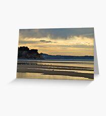 Sunrise at Inverloch, Victoria. Greeting Card