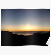 Samoa Island - Sunset Through the Dunes Poster