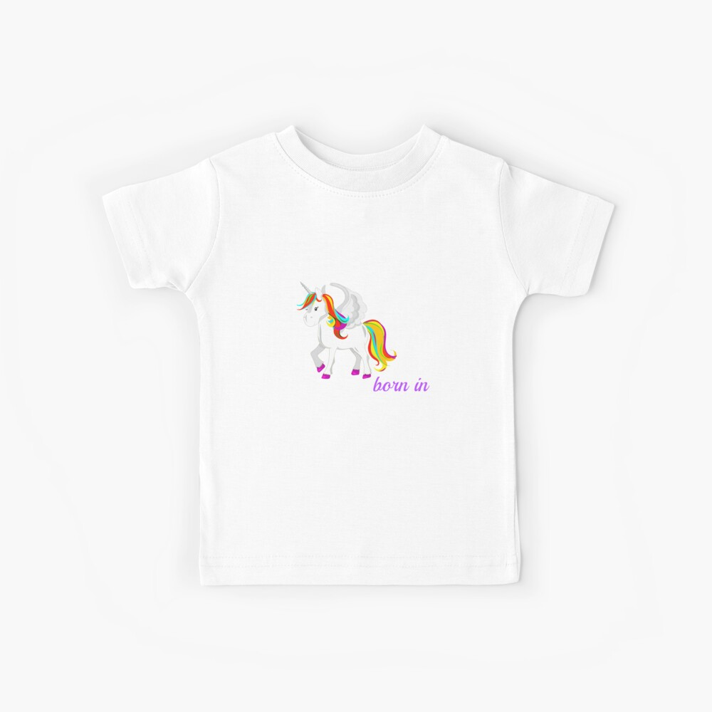Einhorn Bornkentucky Kinder T-Shirt