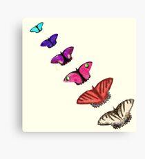 Butterfly stencils  Canvas Print