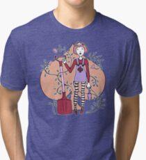 Queen of Spades Tri-blend T-Shirt