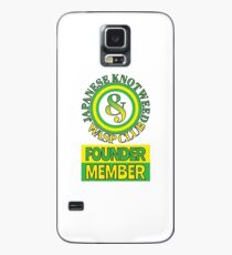 Japanese Knotweed and Wasp Club Founder Member Case/Skin for Samsung Galaxy