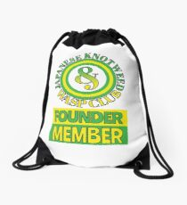 Japanese Knotweed and Wasp Club Founder Member Drawstring Bag
