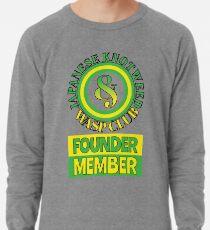 Japanese Knotweed and Wasp Club Founder Member Lightweight Sweatshirt