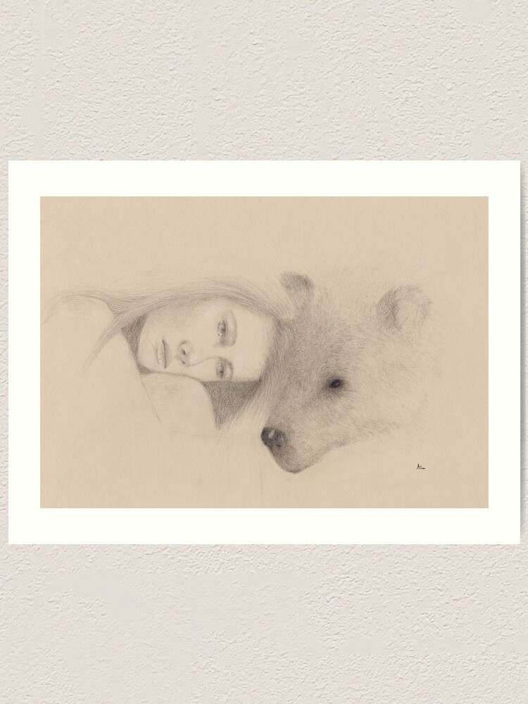 Alternate view of Love comes in many forms part 2 Art Print