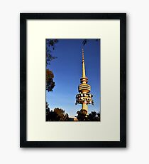 Telstra Tower, Black Mountain Canberra Framed Print