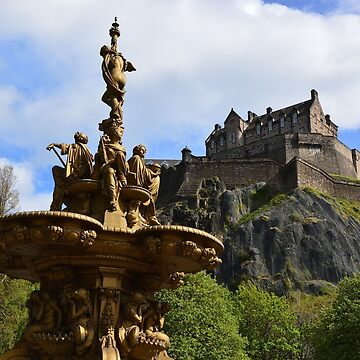 Edinburgh Castle by EdmondHoggeJr