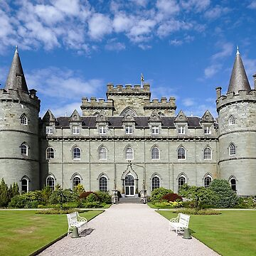 Inveraray Castle by EdmondHoggeJr