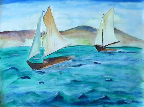 Sailing Free by Monica Engeler