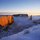 Independence Rock, Colorado National Monument by Brian Hendricks