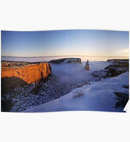 Independence Rock, Colorado National Monument Poster