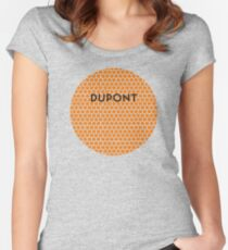 DUPONT Subway Station Women's Fitted Scoop T-Shirt