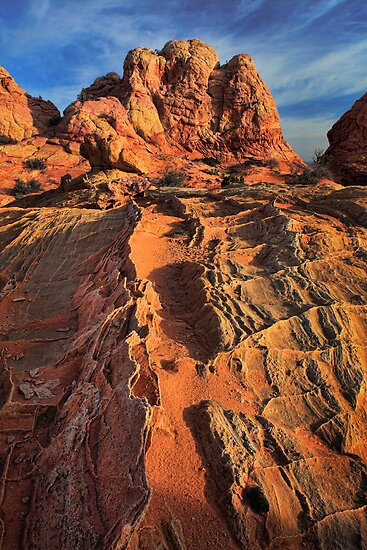 Sandstone Flakes by Inge Johnsson