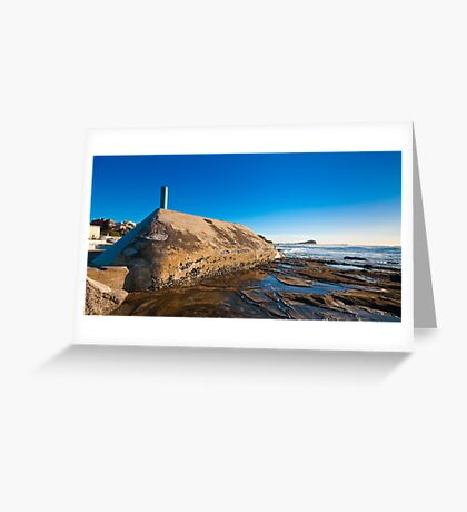 Sunrise from Newcastle Baths Greeting Card