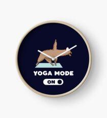 Yoga Mode On Clock