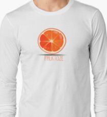 Fruktoze - classic Orange Long Sleeve T-Shirt