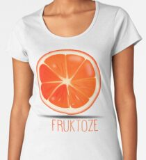 Fruktoze - classic Orange Women's Premium T-Shirt