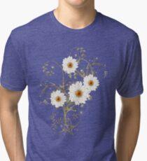 Summer Flowers Tri-blend T-Shirt