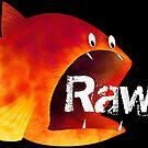 Fish Rawr! Funny by StrangeStore