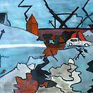 Street Chaos by Monica Engeler