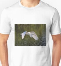 Egret With Mating Color T-Shirt