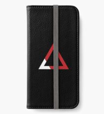 Red Triangle iPhone Wallet/Case/Skin