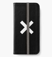 White Cross iPhone Wallet/Case/Skin