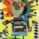 Radio Robot by summerart