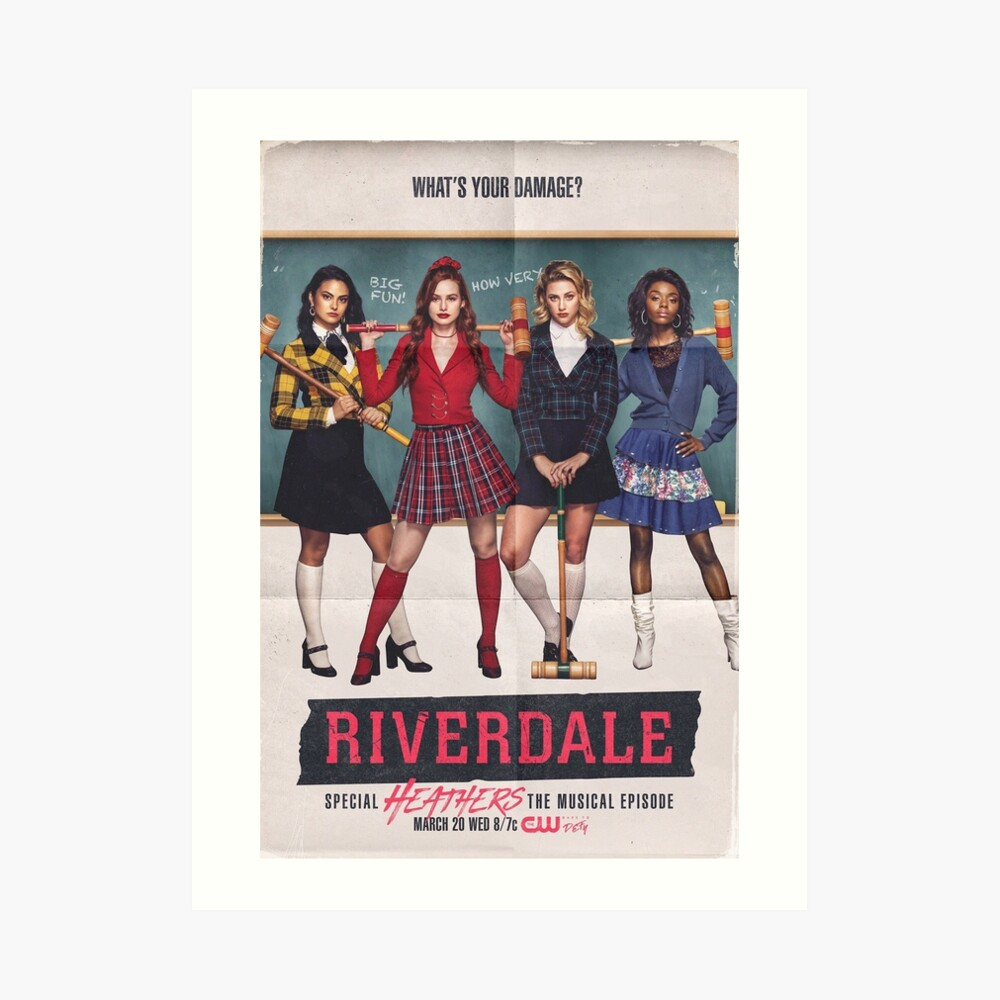 Riverdale - Heathers das Musical Kunstdruck