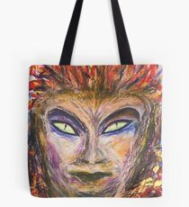 The Demon of a Painter  Tote Bag