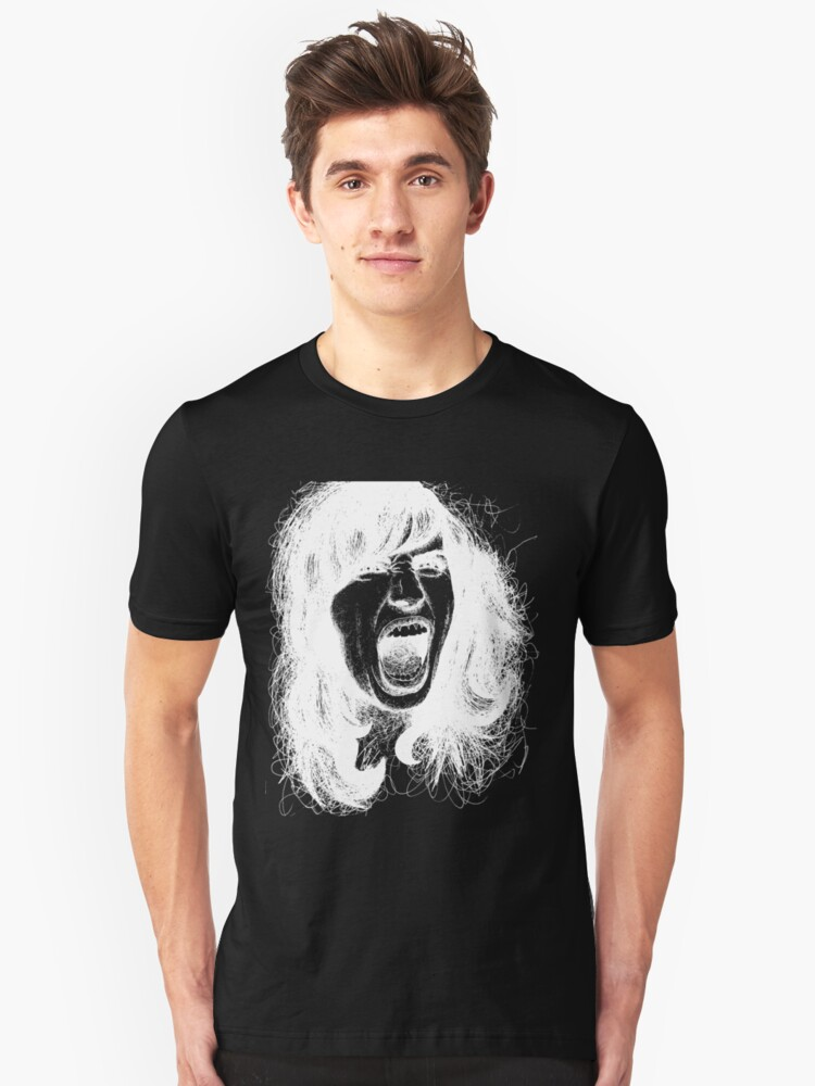 Inverted Screaming Unisex T-Shirt Front