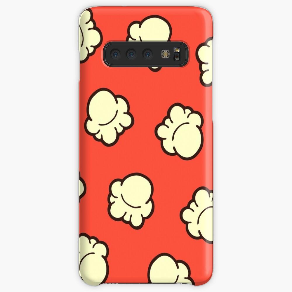 Popcorn Pattern Samsung Galaxy Snap Case