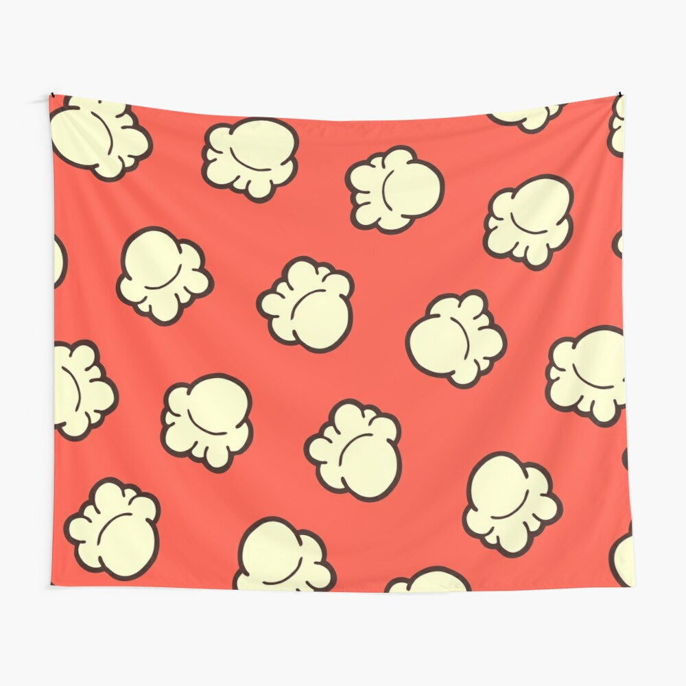 Popcorn Pattern Wall Tapestry