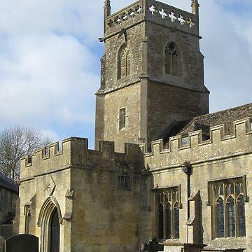 St. Mary's Church, Lydiard Tregoze, Wiltshire by lezvee
