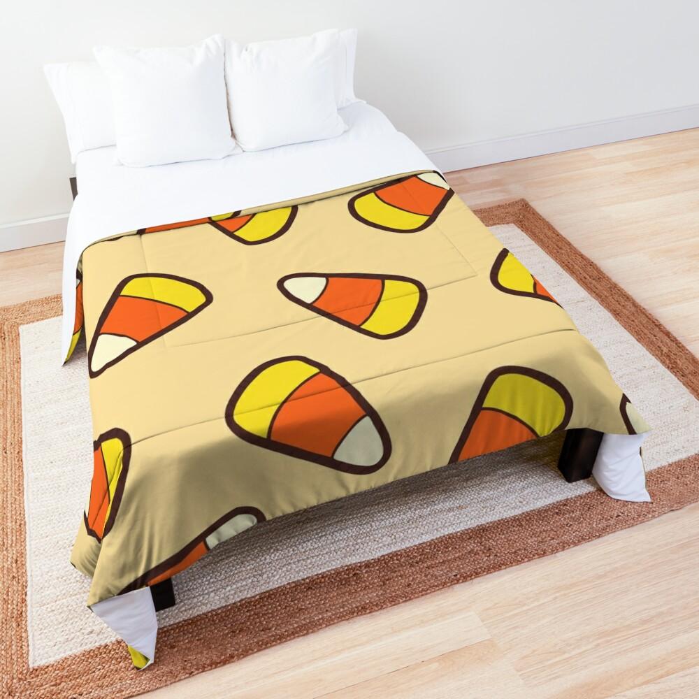 Candy Corn Pattern Comforter