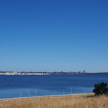 Perth WA, Swan River by lezvee