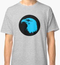 Bald Eagle in Blue T-Shirt Classic T-Shirt