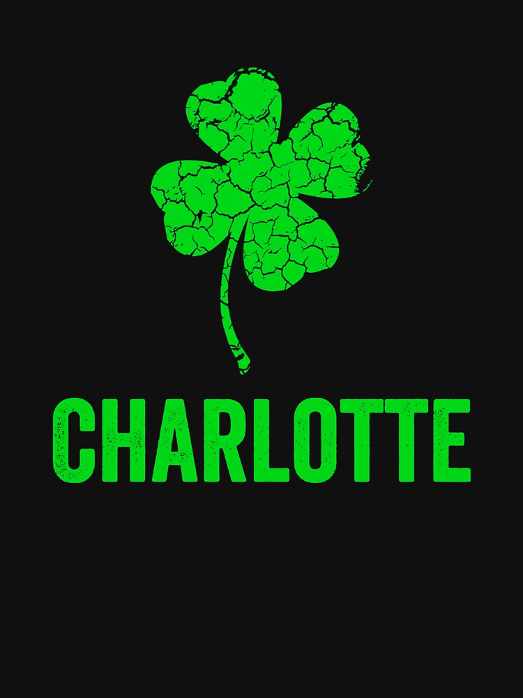 Charlotte Irish, St Patricks Day, Four Leaf Clover by Designs4Less