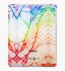 Broken Damaged Cracked out back White iphone Photograph iPad Case/Skin